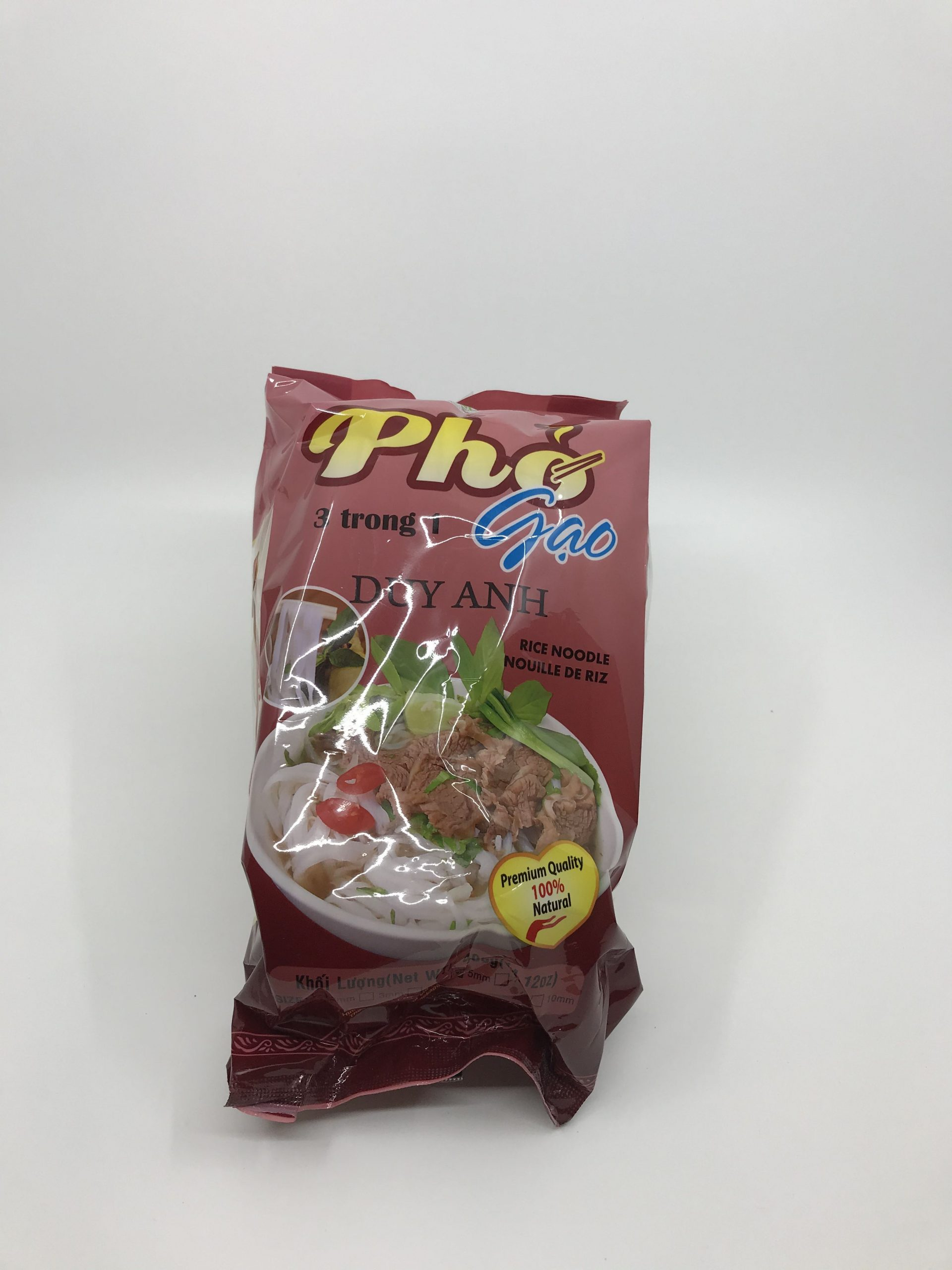 Rice noodle (pho gao) Duy Anh brand 5mm